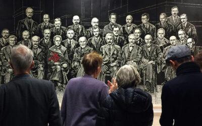 Największy drzeworyt w Polsce z okazji urodzin Marii Curie-Skłodowskiej
