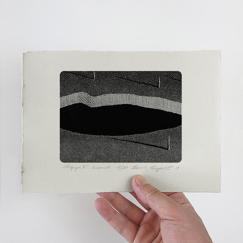 1_karol-pomykala-linocut-printmaking-pilgrim-5