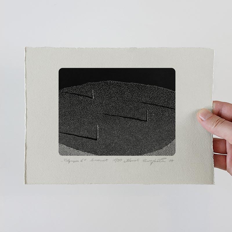 1_karol-pomykala-linocut-printmaking-pilgrim-6