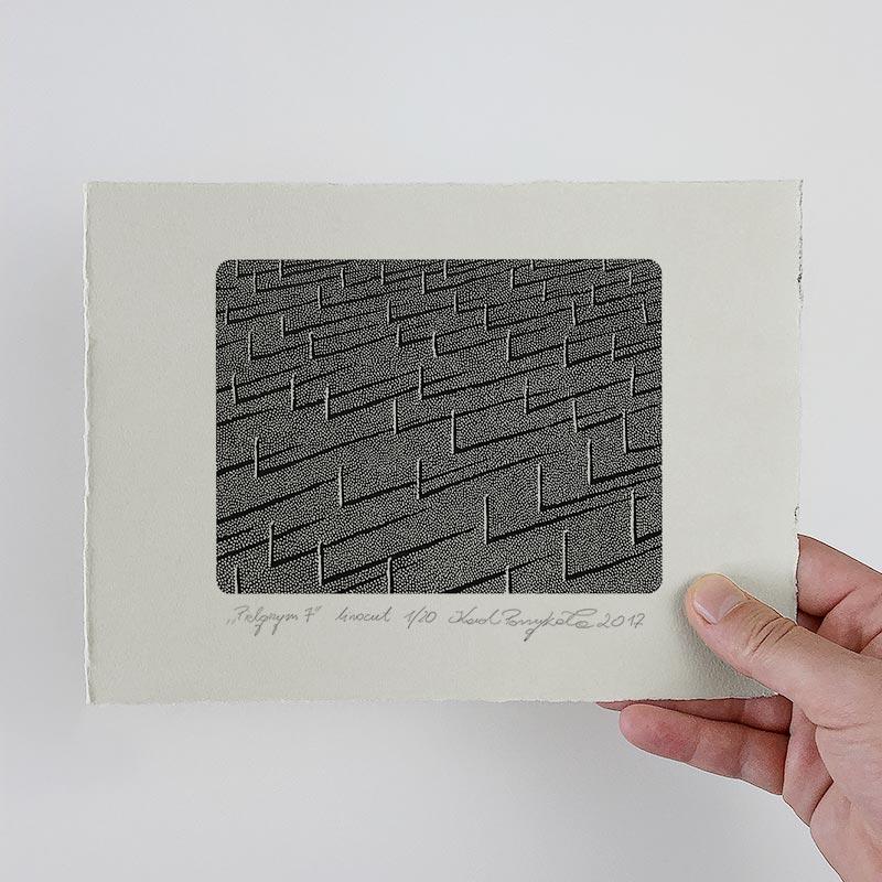 1_karol-pomykala-linocut-printmaking-pilgrim-7