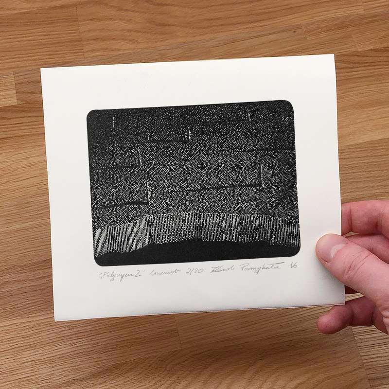 3_karol-pomykala-linocut-printmaking-pilgrim-2