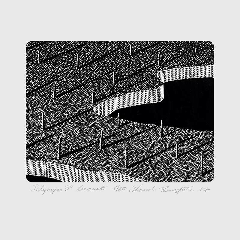 4_karol-pomykala-linocut-printmaking-pilgrim-3