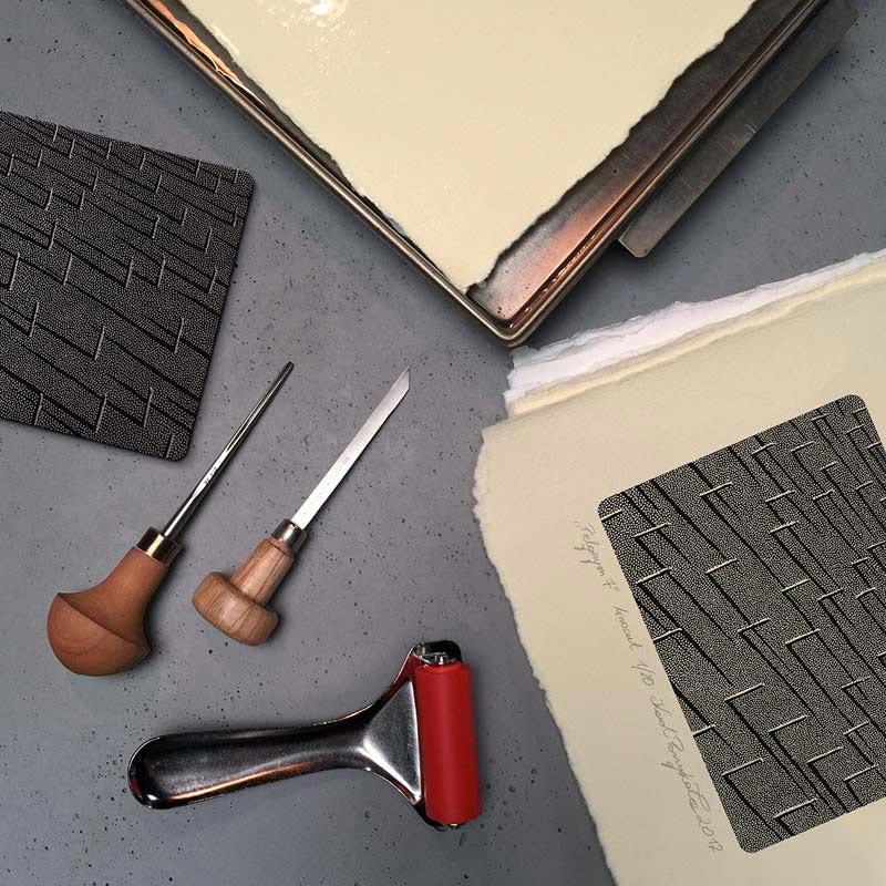 4_karol-pomykala-linocut-printmaking-pilgrim-7