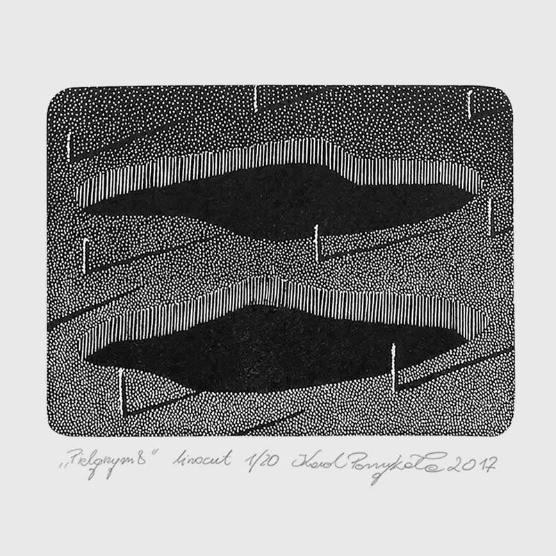 5_karol-pomykala-linocut-printmaking-pilgrim-8