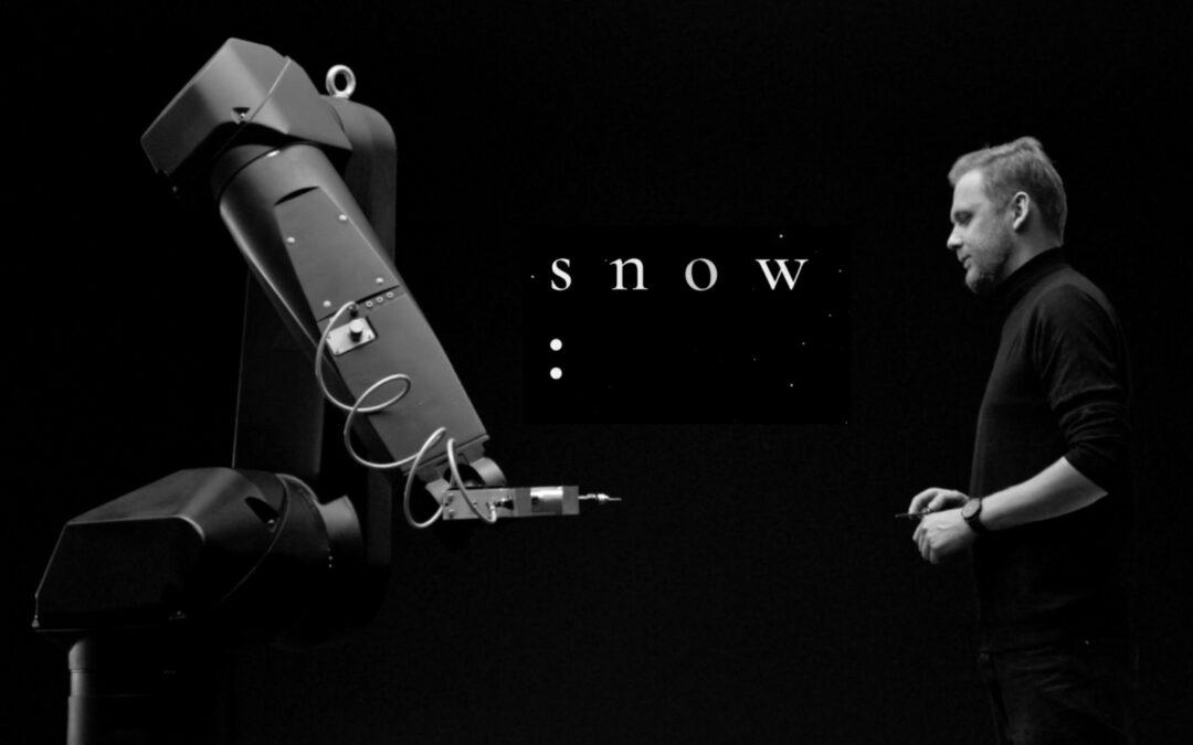 Technologia i sztuka. Projekt SNOW. Kolaboracja z SAATCHI