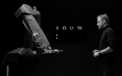 Technology and Art. Project SNOW. Collaboration with SAATCHI