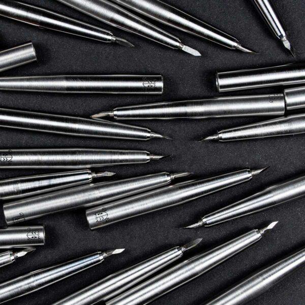 Stalowe dłutko do kropek. Dot tool steel