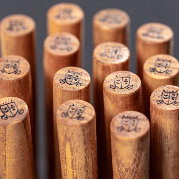 dłutko do grafiki z drewnianą rączką
