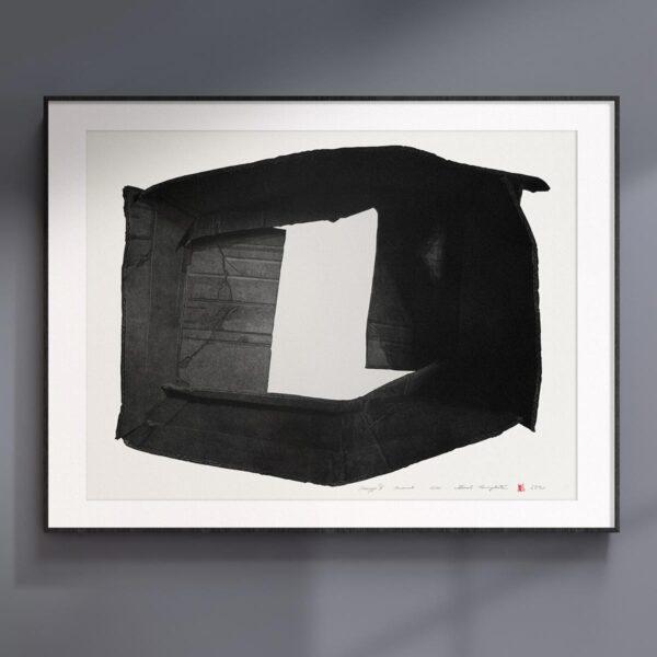 Grafika artystyczna ręcznie drukowana