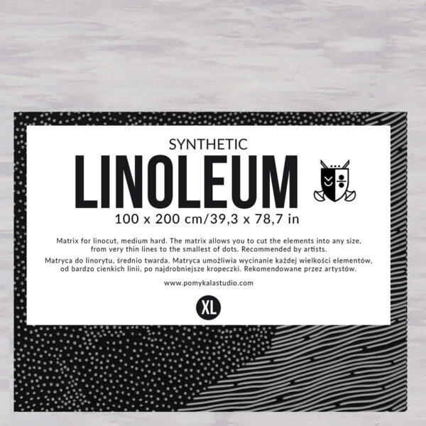 linoleum rekomendowane przez artystów idealne do tworzenia cienkich linii i kropek