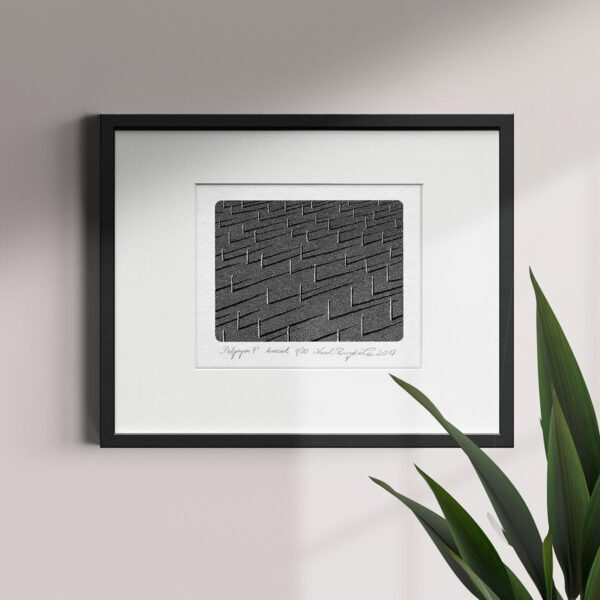 druk wypukły jest jedną z technik druku artystycznego